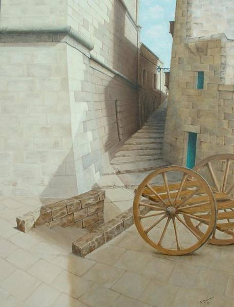 Benny Painting - Cittadella by Benny Brimmer