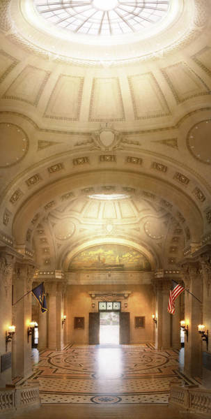 Photograph - City - Annapolis Md - Bancroft Hall by Mike Savad