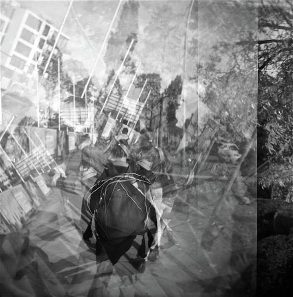 Wall Art - Photograph - City Backpacking by Rika Maja Duevel