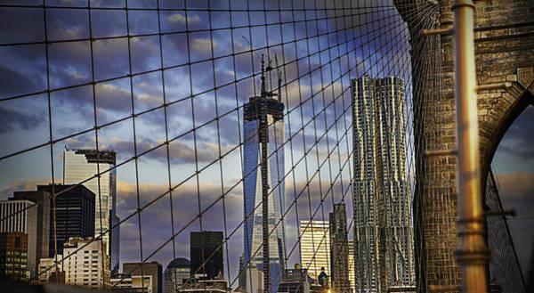 City Between The Bridge Art Print