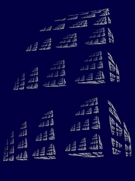 Digital Art - City Blocks by Rein Nomm