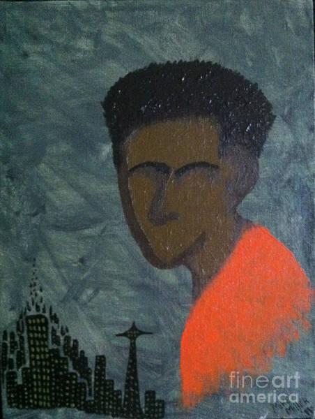 Michael Miller Wall Art - Painting - City Boy by Michael Miller
