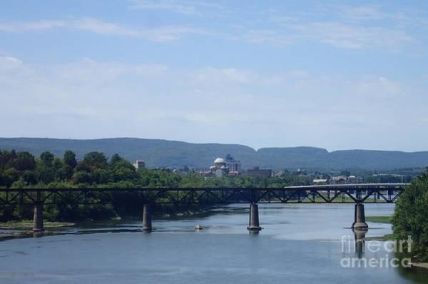 Photograph - City Bridges by Christina Verdgeline