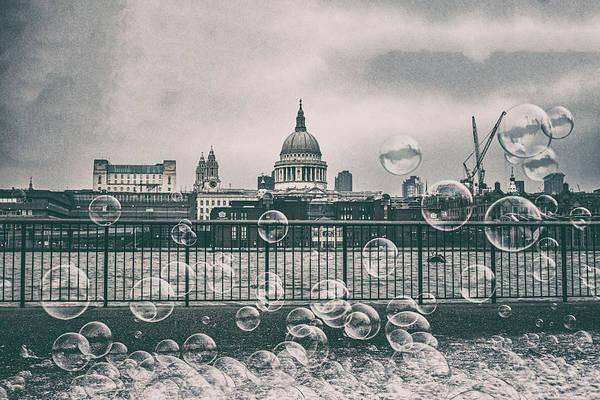 St Martin Photograph - City Bubbles by Martin Newman