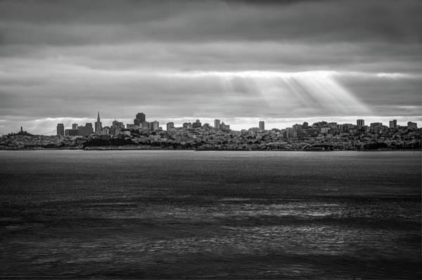 Photograph - City By The Bay - San Francisco California Skyline by Gregory Ballos