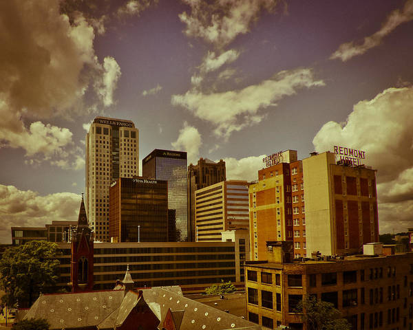 Photograph - City Center by Just Birmingham