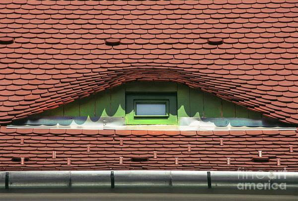 Photograph - City Eyes  Window In Sibiu by Daliana Pacuraru