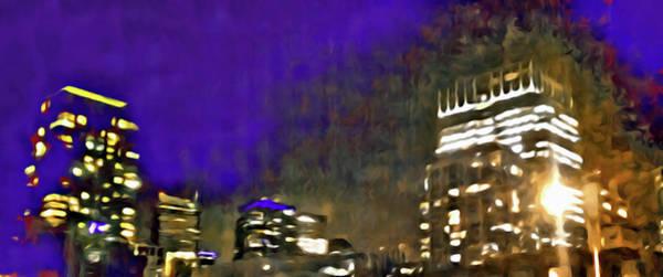 Digital Art - City Flames by Paisley O'Farrell