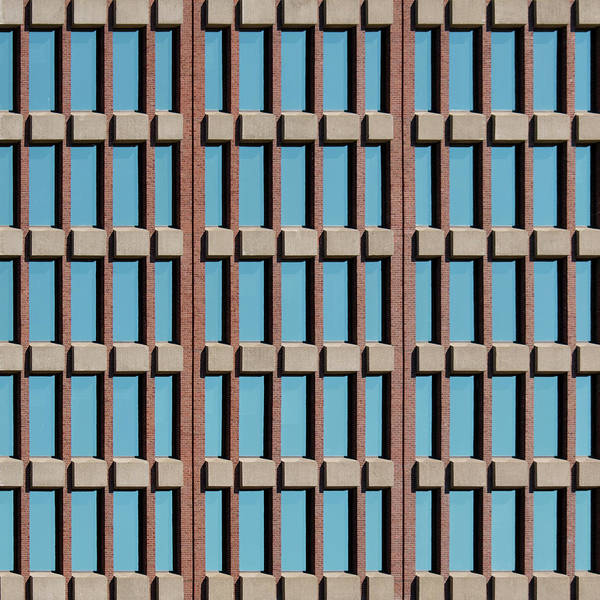 Photograph - City Grid 12 by Stuart Allen