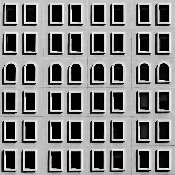 Photograph - City Grid 9 by Stuart Allen