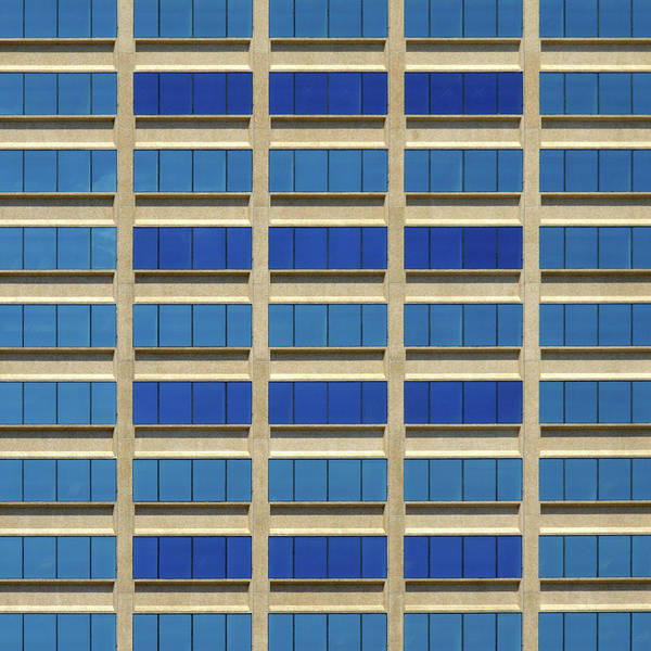 Photograph - City Grid by Stuart Allen
