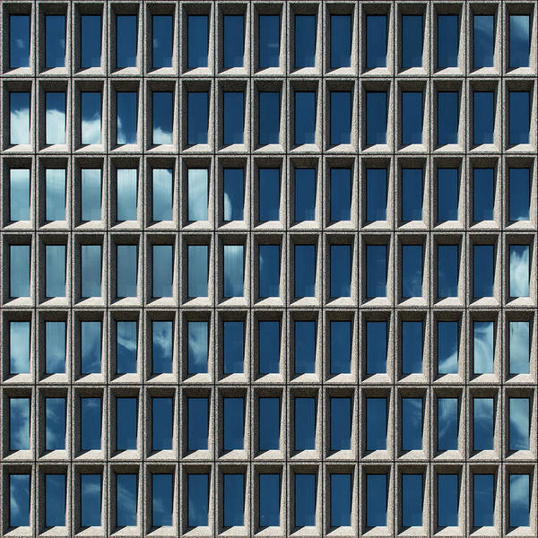 Photograph - City Grids 13 by Stuart Allen