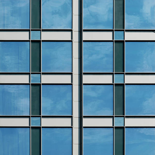Photograph - City Grids 17 by Stuart Allen