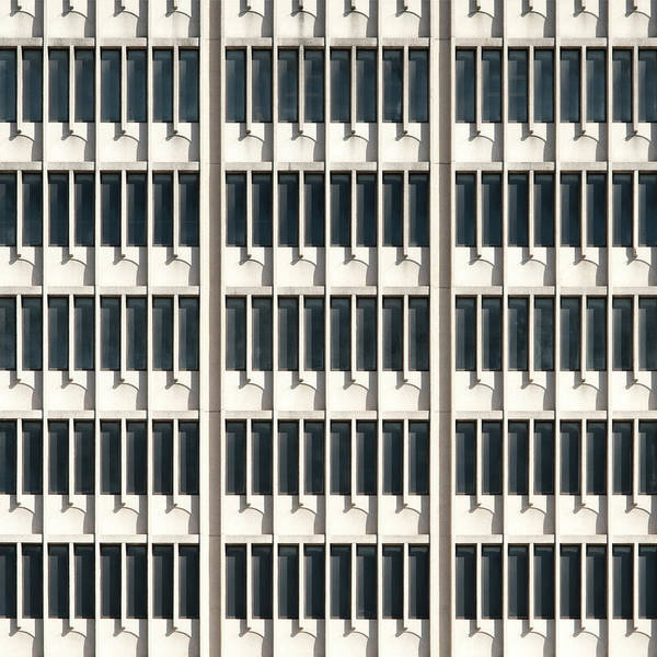 Photograph - City Grids 21 by Stuart Allen