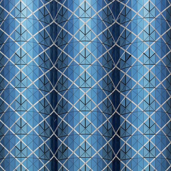 Photograph - City Grids 25 by Stuart Allen