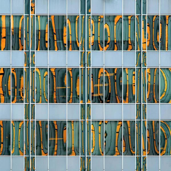 Photograph - City Grids 37 by Stuart Allen