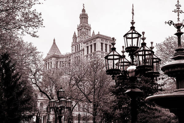 Ornate Photograph - City Hall by Az Jackson