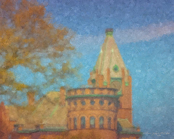 Painting - City Hall Brockton by Bill McEntee
