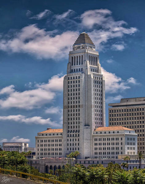 Photograph - City Hall On A Sunny Day by Endre Balogh