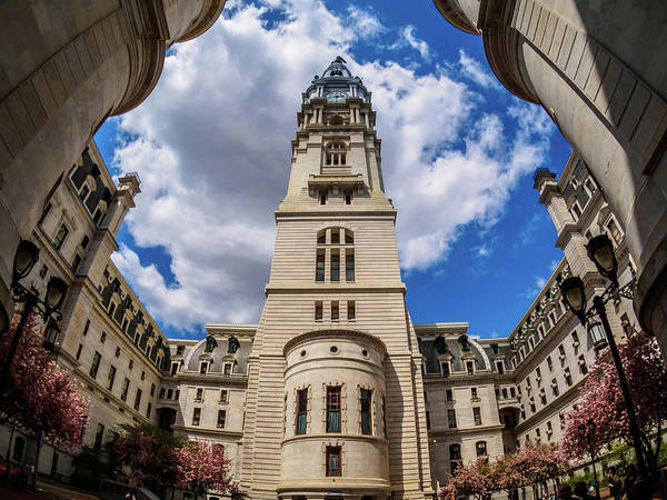 Photograph - City-hall-philadelphia-photo by Louis Dallara
