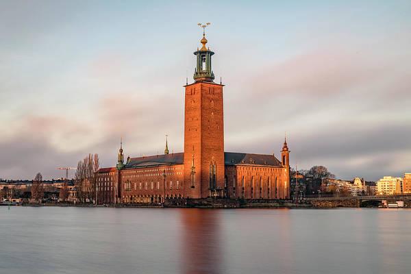 Rathaus Photograph - city hall - Stockholm by Joana Kruse