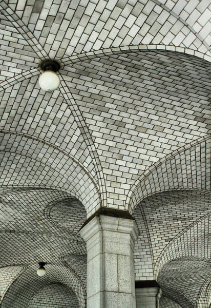 Photograph - City Hall Subway by Cate Franklyn