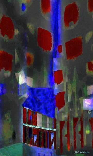 Painting - City Harlequin by RC DeWinter
