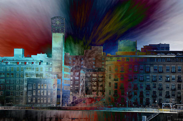 Wall Art - Photograph - City In Transmission by John Ricker