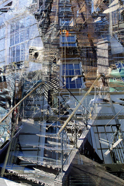 Photograph - City Jumble by Dave Beckerman