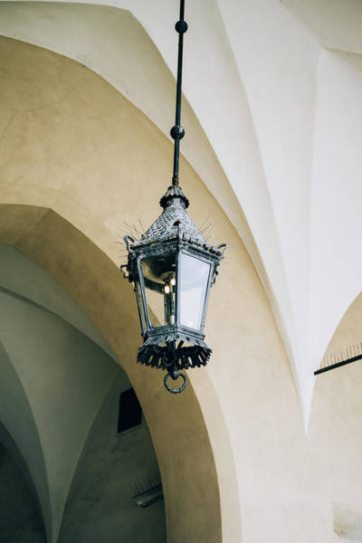 Wall Art - Photograph - City Lamp On Arch by Pati Photography