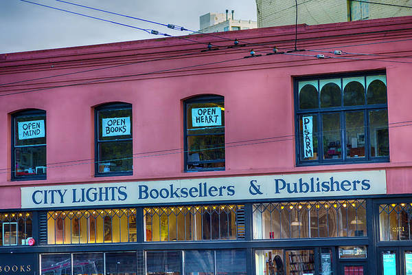 Wall Art - Photograph - City Lights Booksellers by Garry Gay