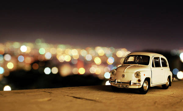 Car Show Photograph - City Lights by Ivan Vukelic