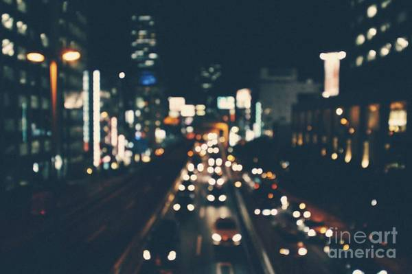 Wall Art - Photograph - City Lights by MGL Meiklejohn Graphics Licensing