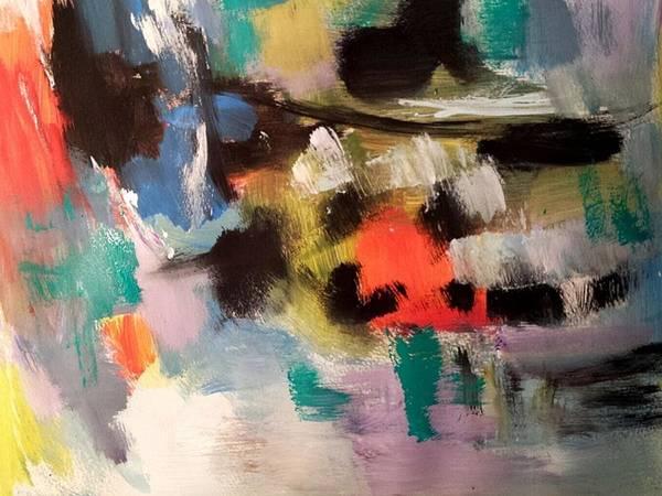 Painting - City Lights by Nikki Dalton