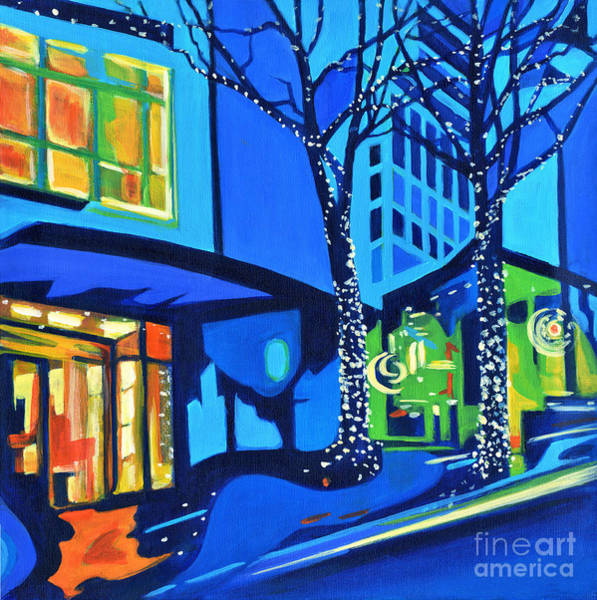 Painting - City Lights by Tanya Filichkin