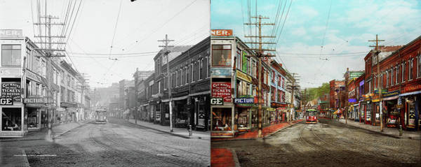 Wall Art - Photograph - City - Ma Glouster - A Little Bit Of Everything 1910 - Side By Side by Mike Savad