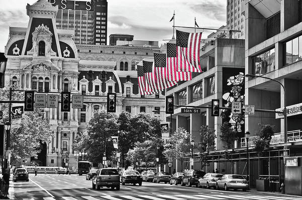 Photograph - City Of Brotherly Love - Philadelphia by Louis Dallara