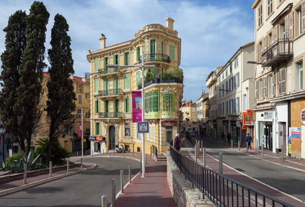 Tenement Photograph - City Of Cannes In France by Artur Bogacki