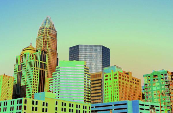 Charlotte Nc Wall Art - Photograph - City Of Colors by Karol Livote