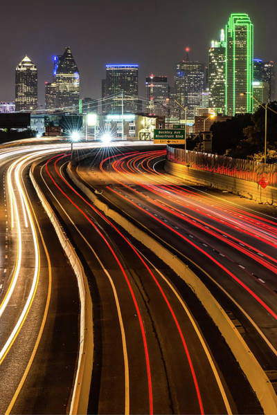 Photograph - City Of Dallas Texas - Skyline Photography by Gregory Ballos