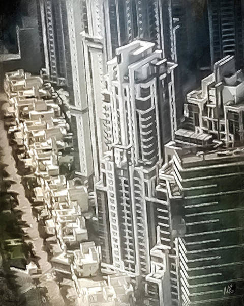 Wall Art - Painting - City Of Dubai by Melissa Smith