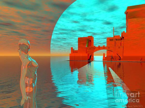 Digital Art - City Of Ember by Sandra Bauser Digital Art