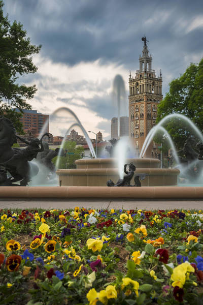 City Of Fountains Art Print