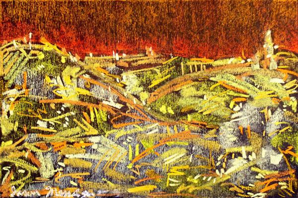 City Of Gold Art Print by Jason Messinger