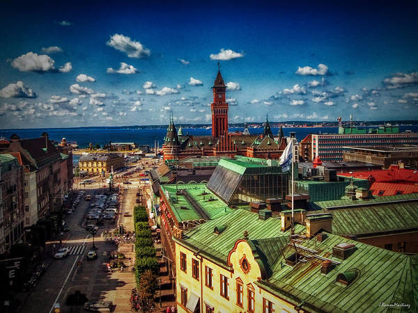 Wall Art - Photograph - City Of Helsingborg by Ramon Martinez