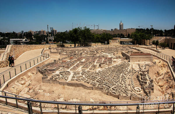 Photograph - City Of King David by Mae Wertz
