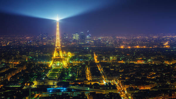 Photograph - City Of Light by James Billings