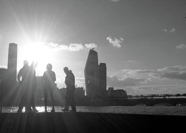 Bankside Photograph - City Of London  by Aidan Moran