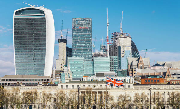Photograph - City Of London by Alexandre Rotenberg
