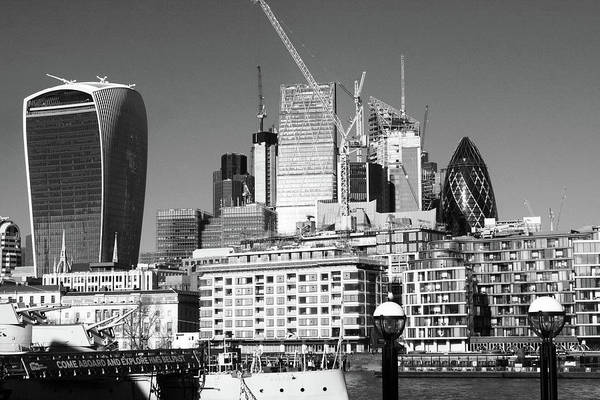 Square Mile Wall Art - Photograph - City Of London Skyline by Aidan Moran